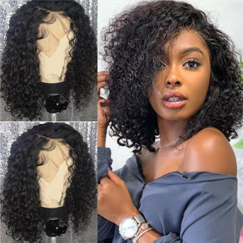 curly wig short